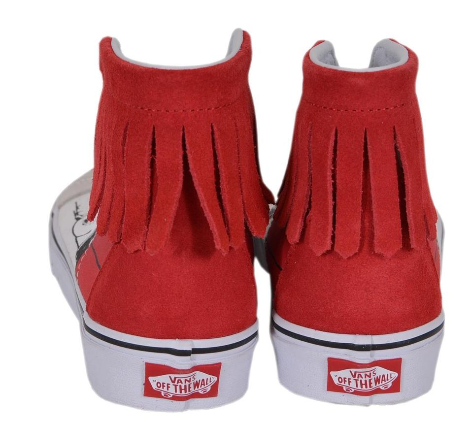 58a090d6db7faa Vans Multicolor Women s Peanuts Snoopy Dog House Bone High Top ...