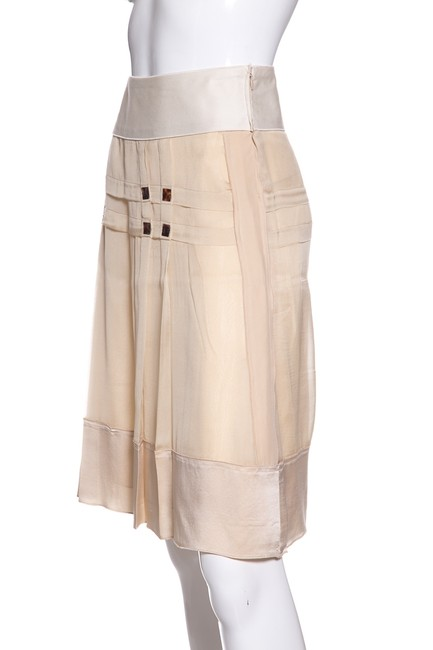 Alberta Ferretti Skirt Cream