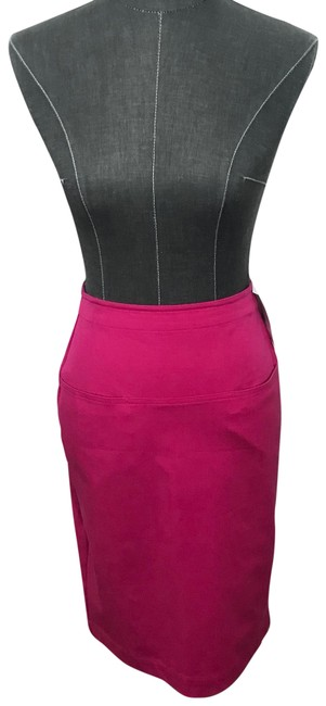 Preload https://item3.tradesy.com/images/theory-pink-clea-bi-stretch-knee-length-skirt-size-2-xs-26-22803507-0-1.jpg?width=400&height=650