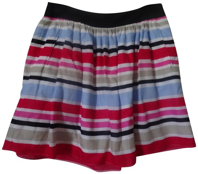 Preload https://item3.tradesy.com/images/cynthia-rowley-black-white-pink-and-tan-knee-length-skirt-size-6-s-28-22803512-0-1.jpg?width=400&height=650