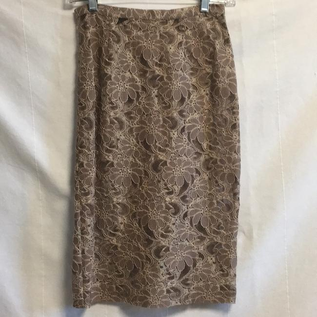 Dolce&Gabbana D&G Tan Lace Dress