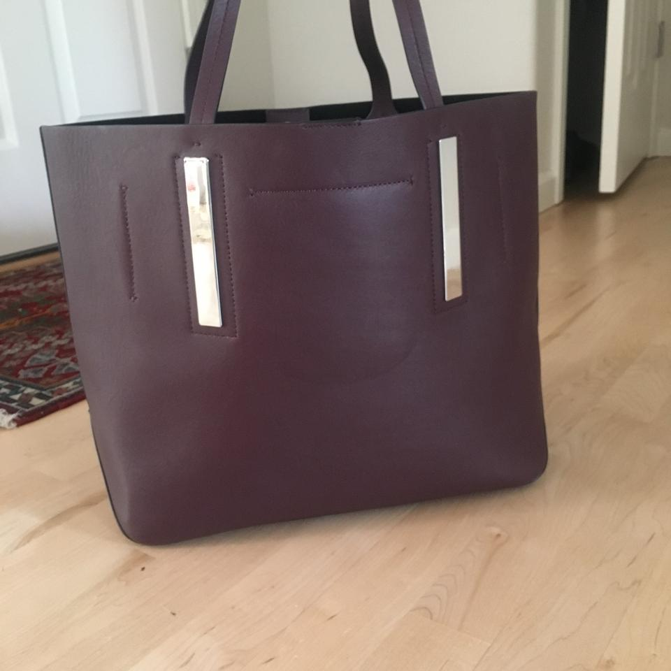 95a65a19f67a Michael Kors Collection 'jaryn' Bordeaux Calfskin Leather Tote - Tradesy