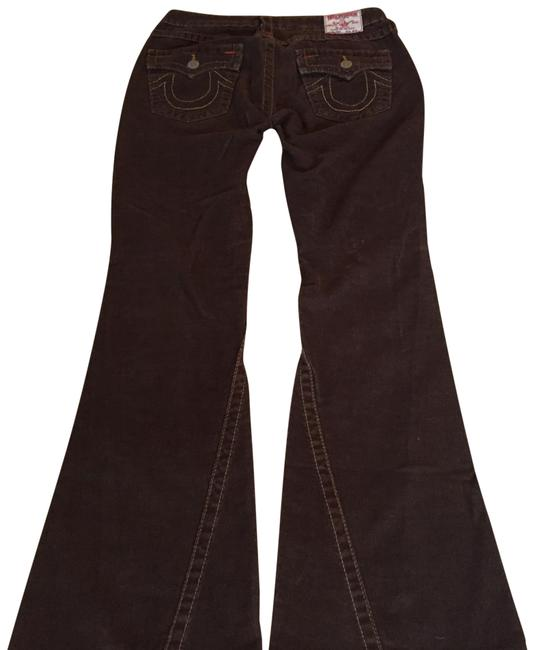 Preload https://item1.tradesy.com/images/true-religion-brown-joey-cords-flare-leg-jeans-size-29-6-m-22803755-0-6.jpg?width=400&height=650
