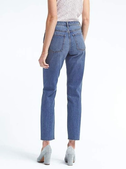 Banana Republic Straight Leg Jeans-Medium Wash