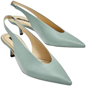 Zara Sea Green Pumps