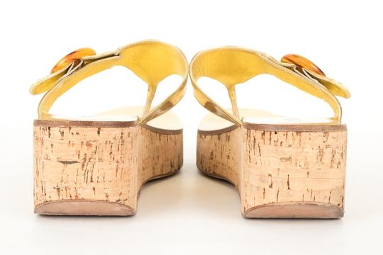 Prada gold Sandals Image 3