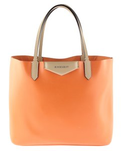 Givenchy Leather Brown Gv.l1122.18 Tote in Orange