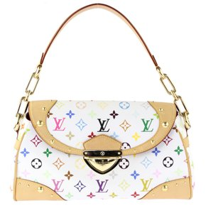 Louis Vuitton Canvas White Shoulder Bag