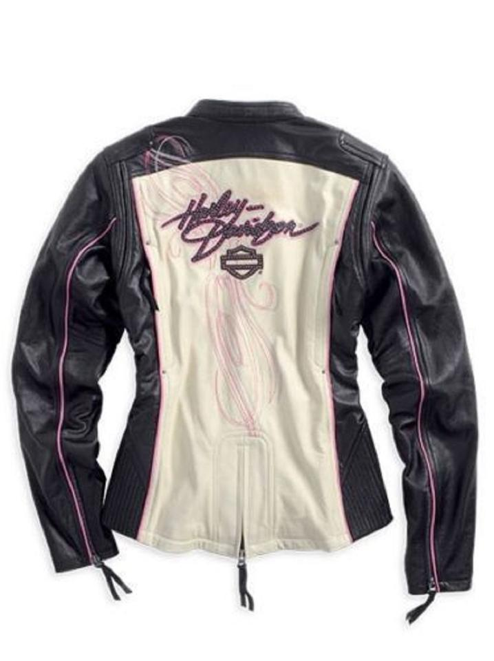 lowest price famous brand reputable site Harley Davidson Black White Women's Limited Edition Pink Label ...
