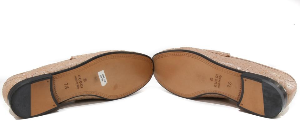 8e517ca2c Gucci 307929 Loafers Python 307929 Natural Flats Image 10. 1234567891011