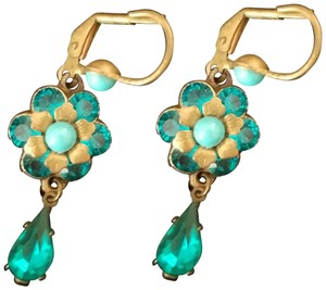 Michal Negrin Michal Negrin turquoise drop earrings