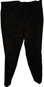 Neil Barrett Straight Pants Black