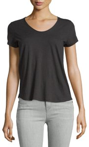 Vince Casual Sleeves T Shirt Black