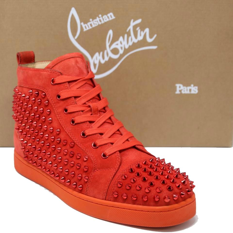 Christian Louboutin Junior Mens Spike Sneaker | Unboxing [4K]