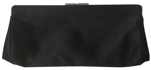 Cole Haan black with chrome accents Clutch