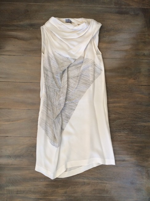 Malloni short dress Ivory Italian on Tradesy