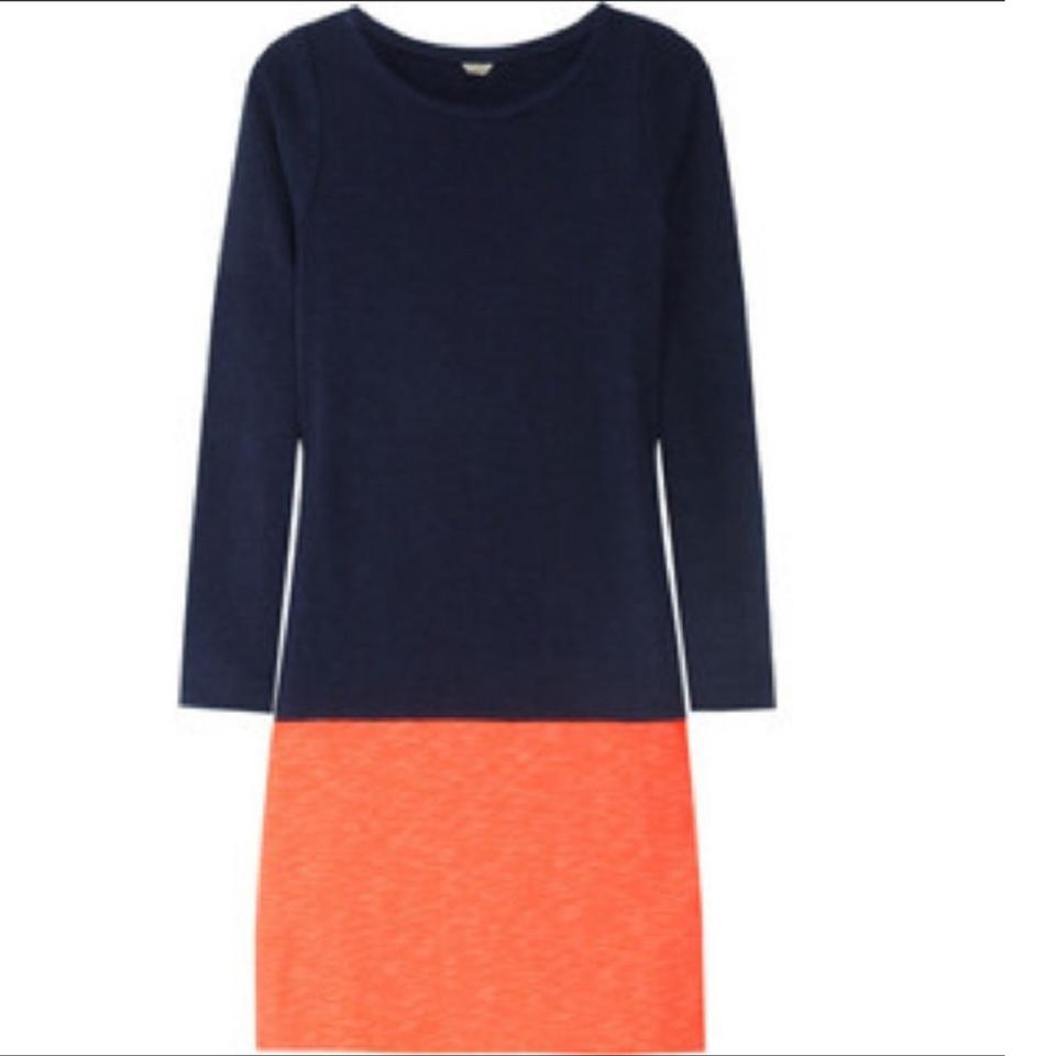 J And J Corals J.Crew Navy Blue/Coral...