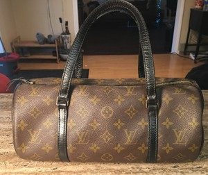 Louis Vuitton Papillon Satchel Barrel Cyllinder Baguette
