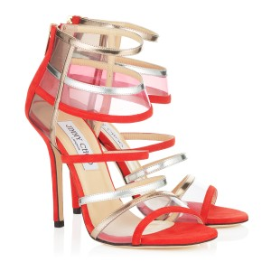 Jimmy Choo Limited Edition Red Pumps