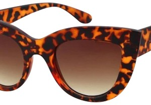 Other Ladies Cat Eye leopard Sunglasses