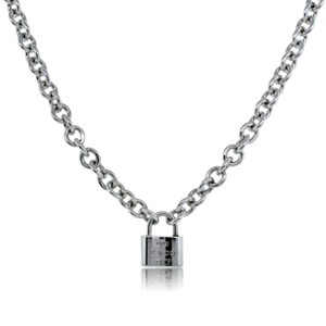 Tiffany & Co. Retired 1837 padlock necklace