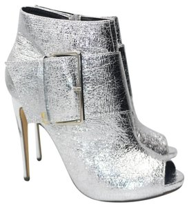 Lauren Lorraine Ankle Ankle Silver Boots