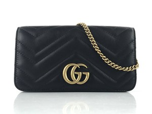 Gucci Gg Marmont Mini Quilted Cross Body Bag
