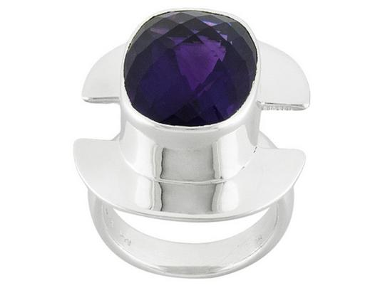 Preload https://img-static.tradesy.com/item/22807334/purple-cushion-african-amethyst-sterling-silver-size-6-ring-0-0-540-540.jpg