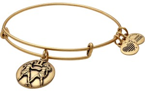 Alex and Ani Alex And Ani Gemini Charm Bangle Bracelet