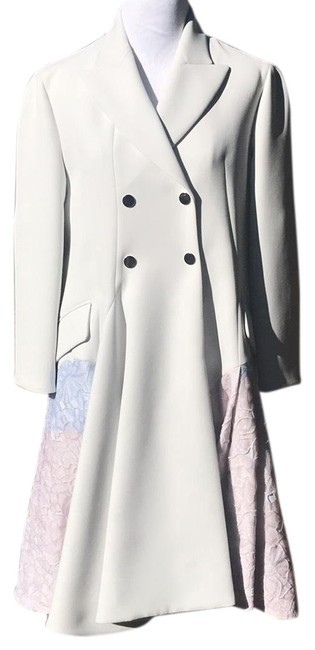 Preload https://img-static.tradesy.com/item/22807357/dior-ivory-double-breasted-dress-with-floral-fabric-detail-pea-coat-size-10-m-0-1-650-650.jpg