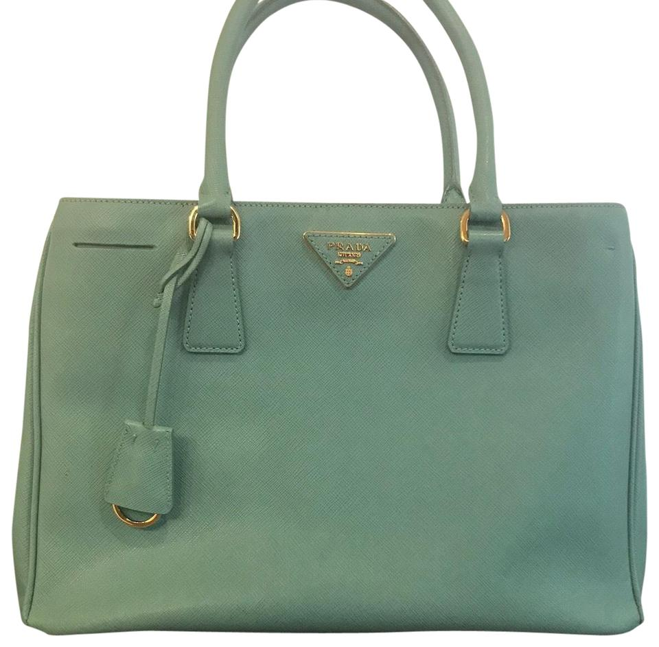 8e16d1c62b Prada Lux Anice (Robin's Egg Blue / Tiffany Blue) Saffiano Leather ...
