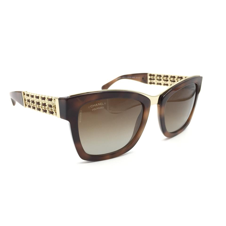 85899320e82fe Chanel Sunglasses Square Black And Brown