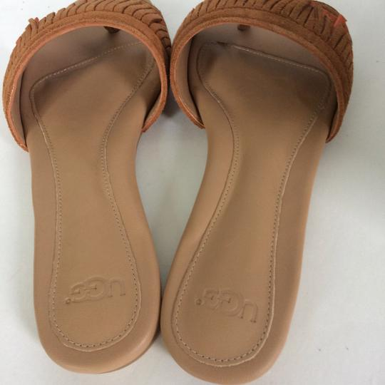 UGG Australia New In Box New With Tags Sale Chestnut / Fire Opal Sandals Image 10