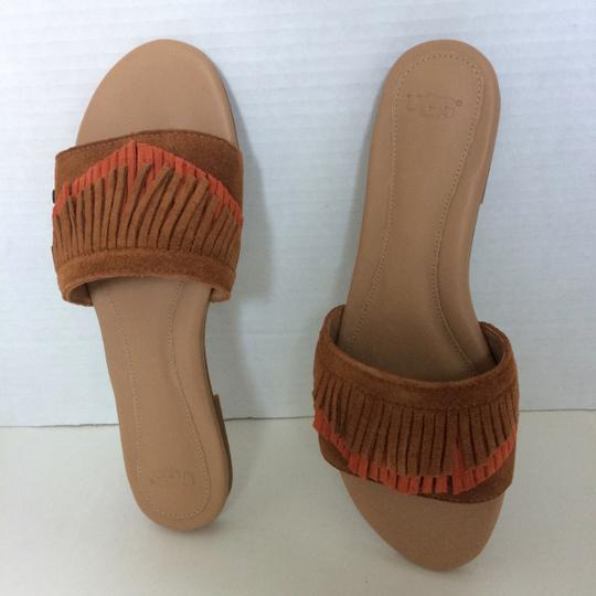UGG Australia New In Box New With Tags Sale Chestnut / Fire Opal Sandals Image 5