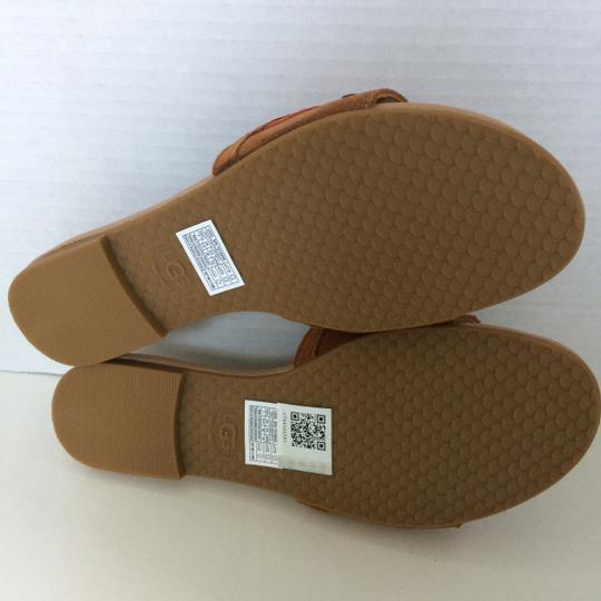 UGG Australia New In Box New With Tags Sale Chestnut / Fire Opal Sandals Image 8