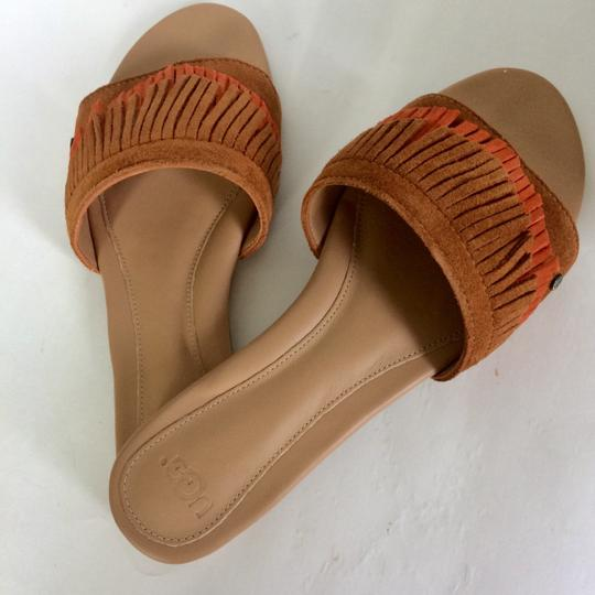 UGG Australia New In Box New With Tags Sale Chestnut / Fire Opal Sandals Image 9