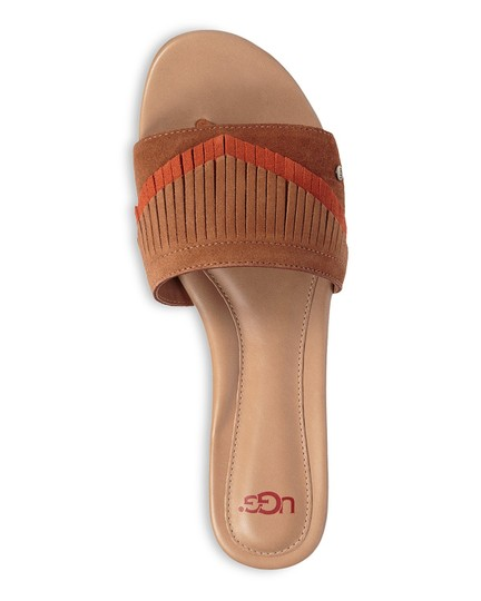 UGG Australia New In Box New With Tags Sale Chestnut / Fire Opal Sandals Image 1
