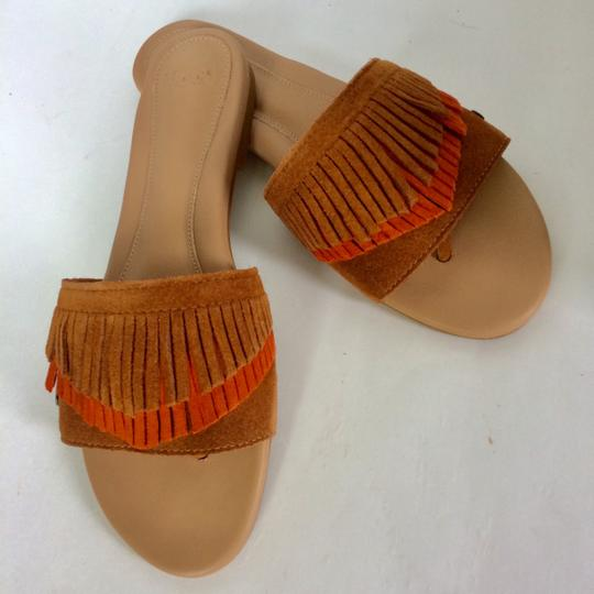 UGG Australia New In Box New With Tags Sale Chestnut / Fire Opal Sandals Image 2