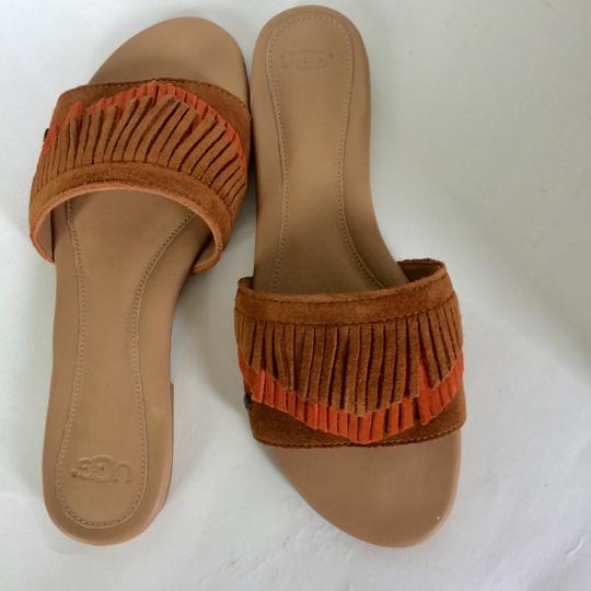 UGG Australia New In Box New With Tags Sale Chestnut / Fire Opal Sandals Image 3