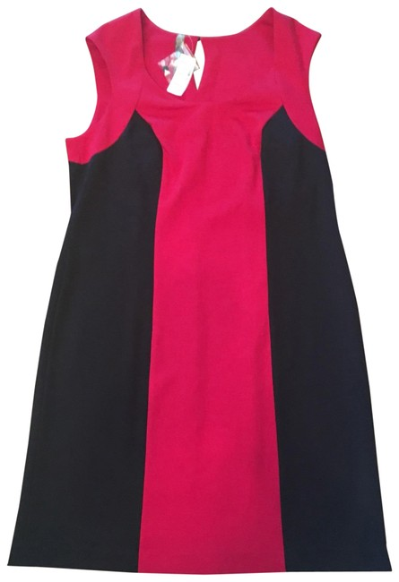 Preload https://img-static.tradesy.com/item/22807798/penningtons-red-and-black-knee-length-workoffice-dress-size-20-plus-1x-0-3-650-650.jpg