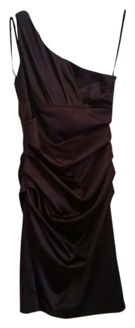 Suzi Chin for Maggy Boutique Bridesmaids Rouged One One Strap Dress
