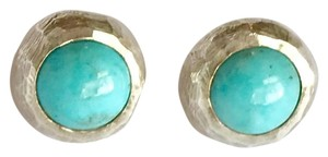 Other Natural Sleeping Beauty Turquoise Studs in Sterling Silver