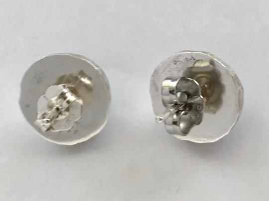 Other Natural Sleeping Beauty Turquoise Studs in Sterling Silver Image 3