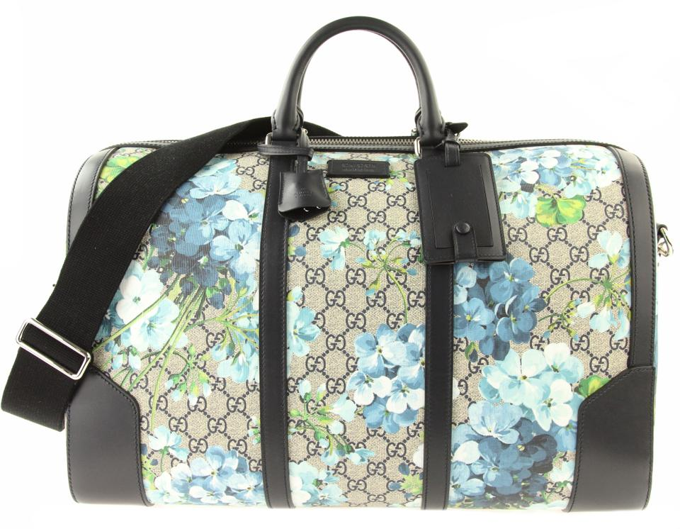 721a7ad7080c Gucci Beige/Blue Gg Coated Canvas Multicolor Travel Bag Image 0 ...