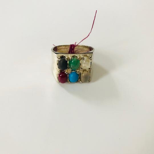 Handmade Multi Stone Ring/Gift For Her/ Valentines day Gift Image 1