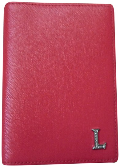Preload https://img-static.tradesy.com/item/22808038/lancaster-red-genuine-calf-leather-card-with-diamonds-wallet-0-1-540-540.jpg