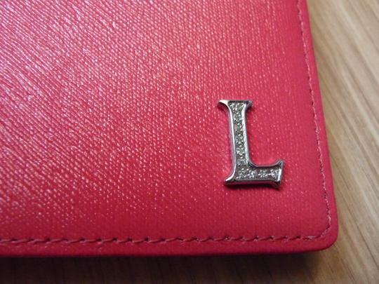 Lancaster Genuine Lancaster calf leather Card wallet with diamonds Image 1
