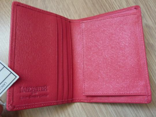 Lancaster Genuine Lancaster calf leather Card wallet with diamonds Image 2
