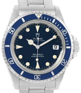 Tudor Tudor Submariner Prince Oysterdate Steel Mens Watch 79090 Box Papers