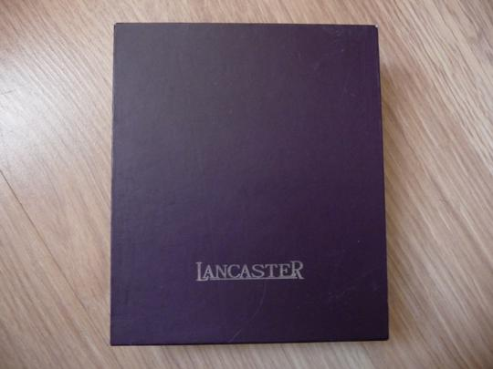 Lancaster New Lancaster Leather and Fabric Card Wallet Image 7